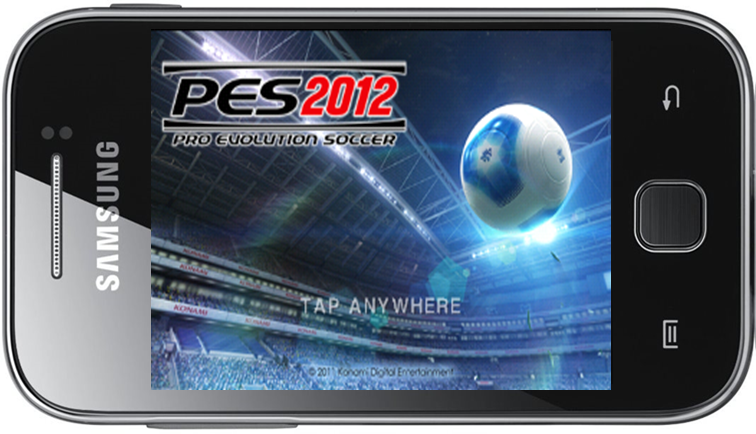 games pes 2012 for phone