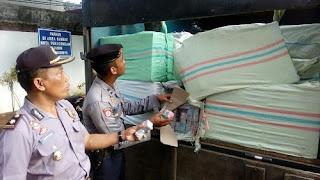 Razia Angkutan Barang, Polresta Pekalongan Gagalkan Pengiriman 1 Ton Lebih Petasan