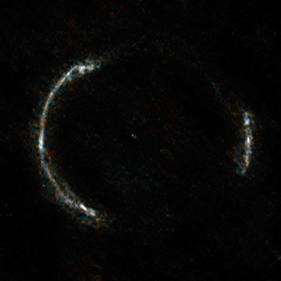 Einstein Ring Reveals Explosion of Star Birth in Deep Universe