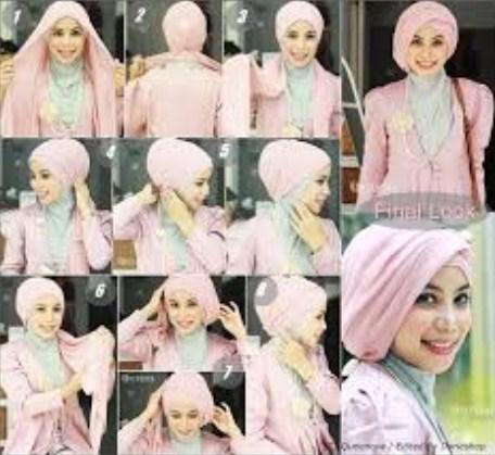Tutorial Hijab Modern Elegan Terbaru