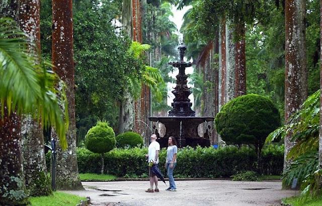 Turismo no RJ Chafariz do Jardim Botânico