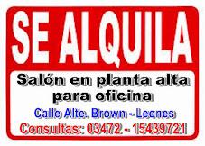 ALQUILER DE SALÓN