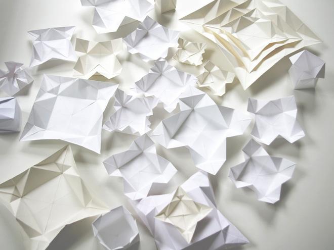 stylingfieber das origami geschirr von moij design. Black Bedroom Furniture Sets. Home Design Ideas