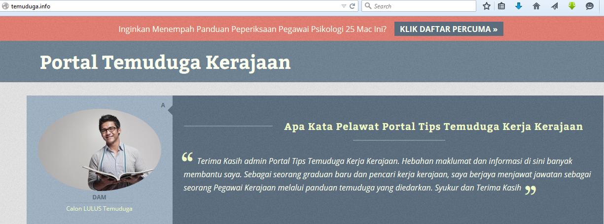 portal temuduga kerja kerajaan, temuduga kerja kerajaan, kerja kerajaan, temuduga kerajaan, jawatan kosong kerajaan