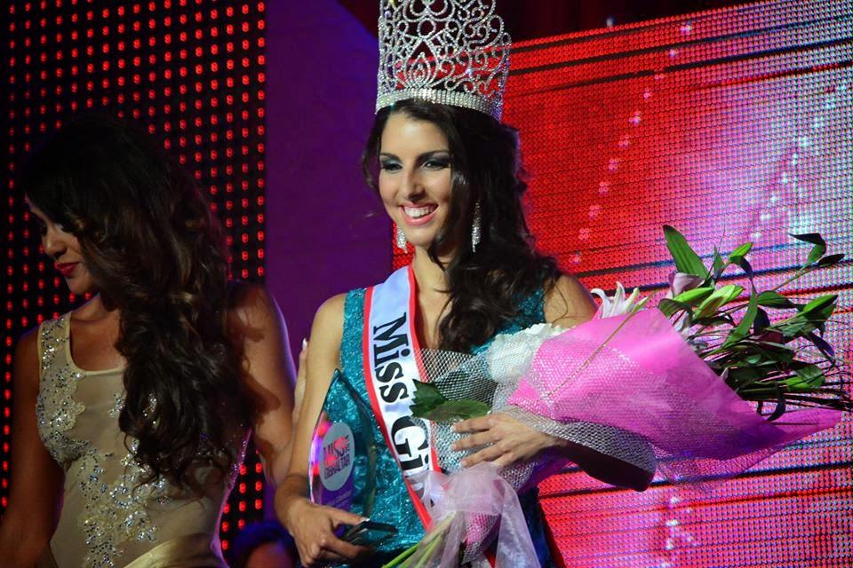 Miss Gibraltar 2014 winner Shyanner Azzopardi