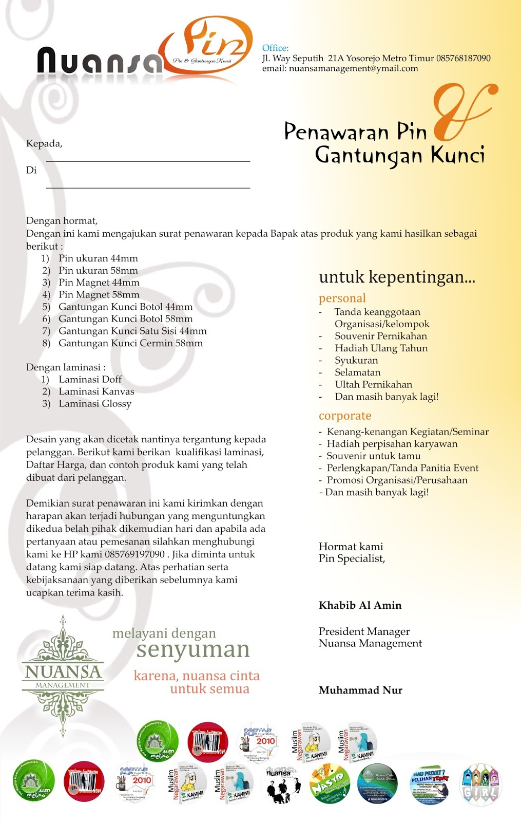 contoh proposal share the knownledge