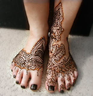 Henna Foot Tattoos