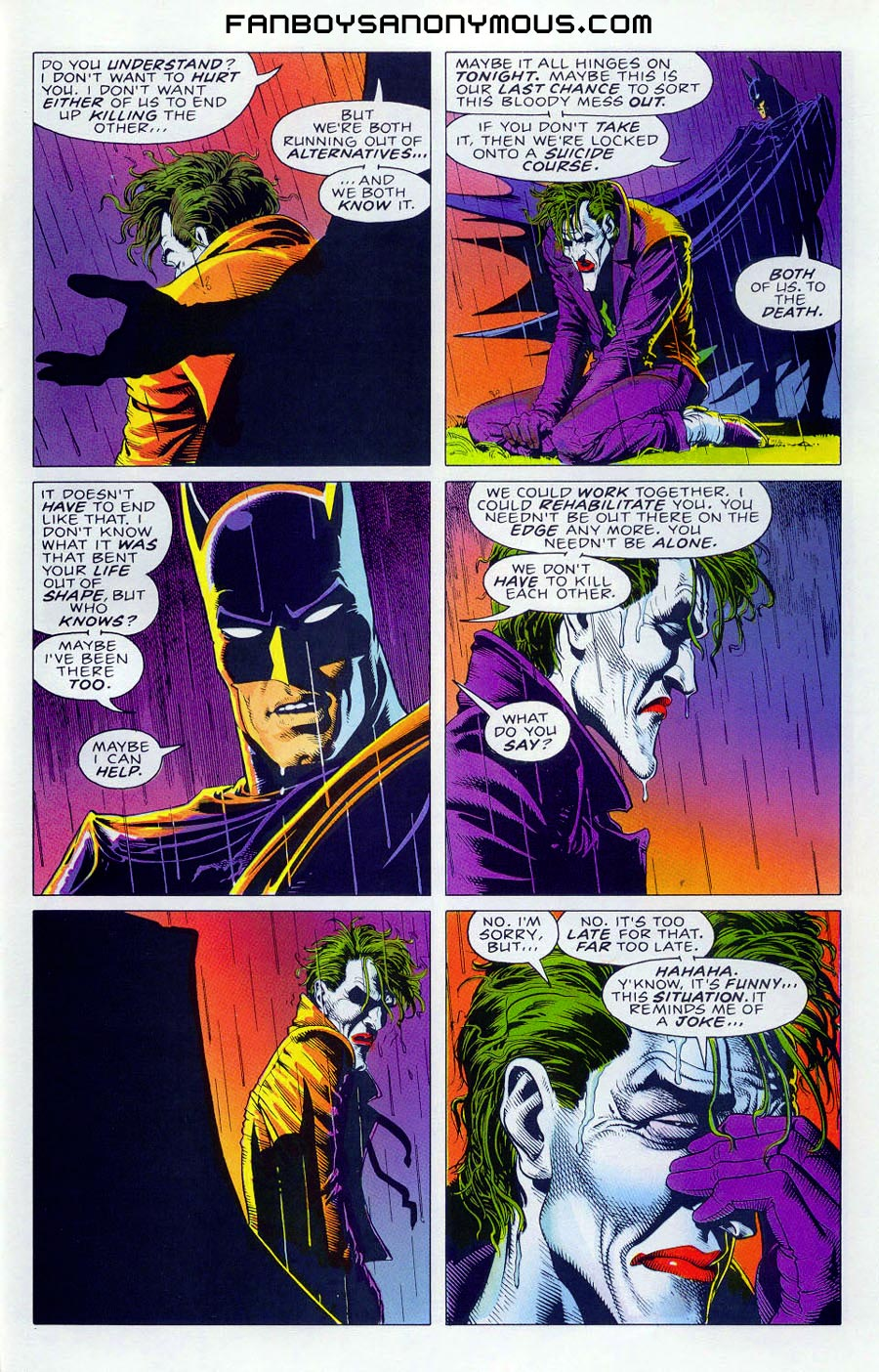 Read The Killing Joke Batman Story Online Free