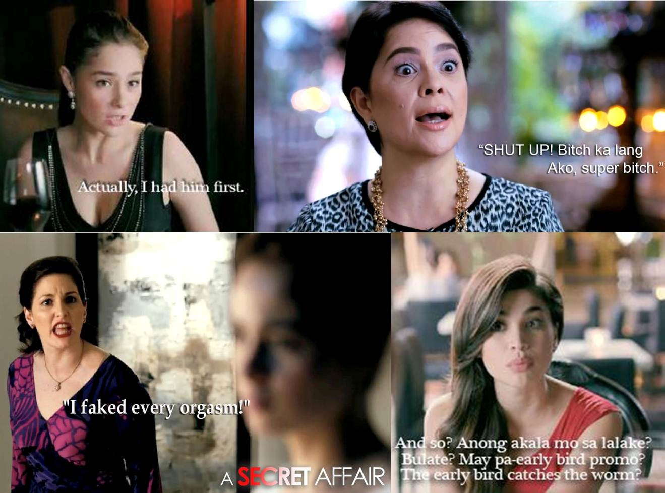 'A Secret Affair' Movie Lines and Quotes | BIDA KAPAMILYA