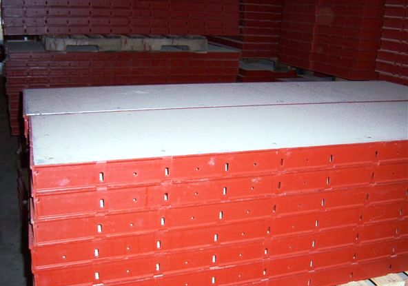 Steel Wall Form : National forming and shoring handset steel ply wall forms