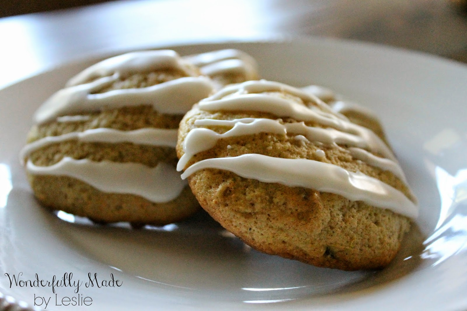 Wonderfully Made: Lemon Zucchini Cookies