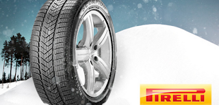 Spune când ninge în 2012 și poți câștiga anvelope Pirelli