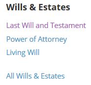 LD: Wills