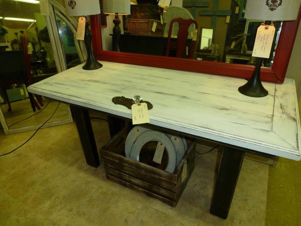 Amazing I Had An Idea To Make A Sofa Table Out Of An Old Door But Could Not Find  The Size Door I Had In Mind.