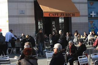 Café Zurich in Barcelona