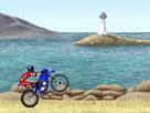 Plajda Motor Sürme Oyunu
