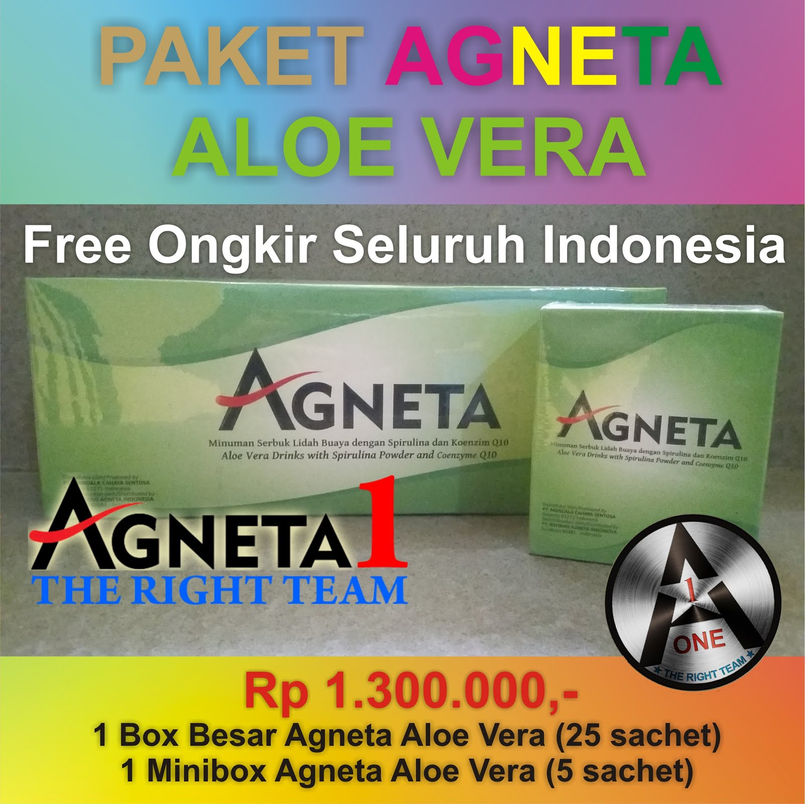 Paket Agneta Aloe Vera