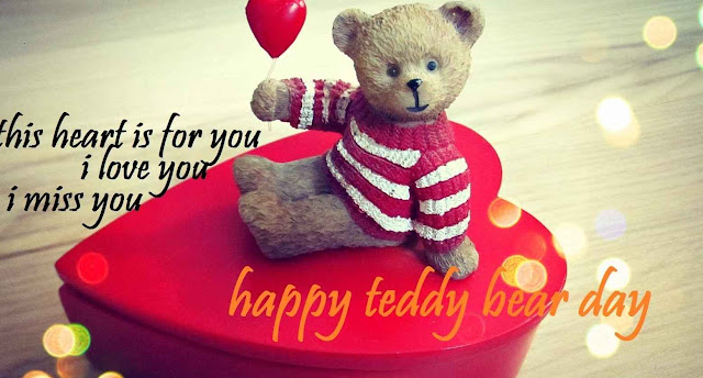 i miss you-teddy day 2016 wallpapers hd