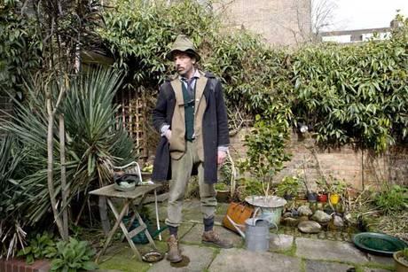 Andy Hulme Vivienne Westwoods gardener