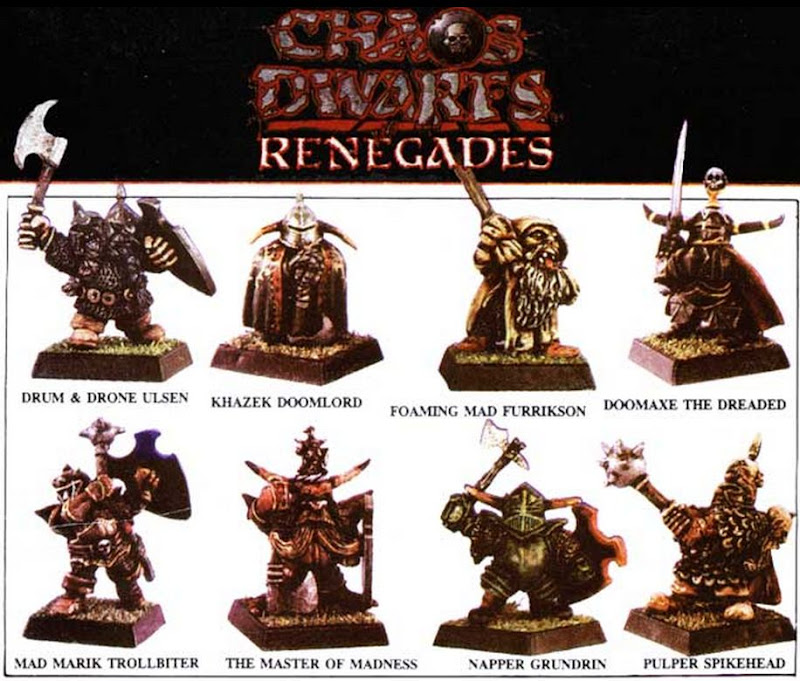 Dwarves of Chaos Renegades picture