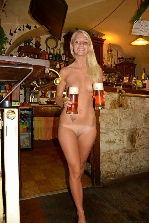 Naked waitresses bars