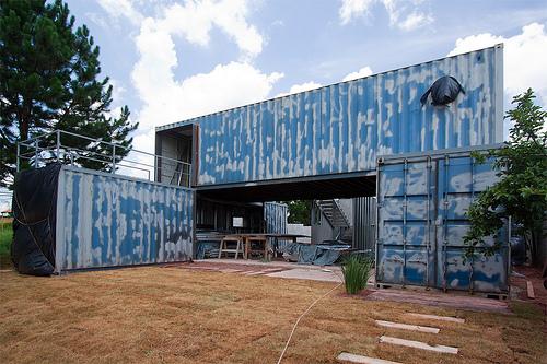 Casa de container for Construire une maison avec des conteneurs