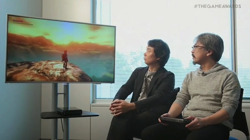 Nuevo trailer de Zelda WII U Mostrado en el Game Awars 2014 se ve asombroso