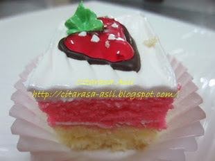 Strawbery Mini Slice Cake