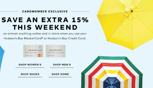 how to pay hudson bay mastercard online
