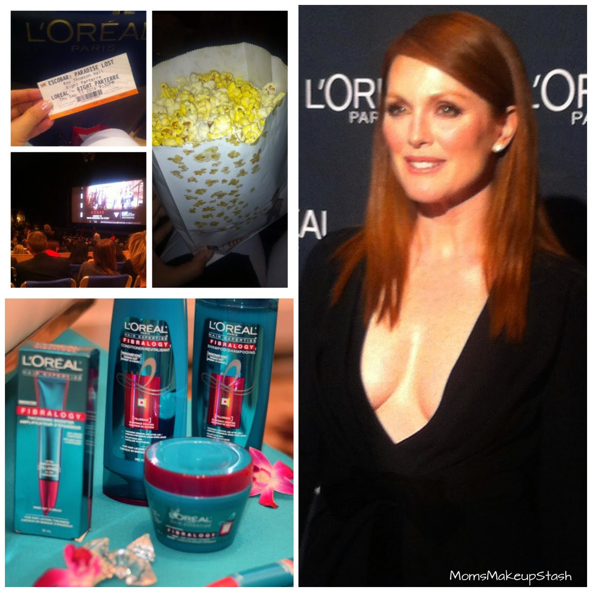 TIFF Beauty, TIFF 2014, L'Oreal Paris, L'Oreal Paris Fibraology, L'Oreal Hair Review, Julianne Moore, Escobar, Tiff Movie, Tiff Screening