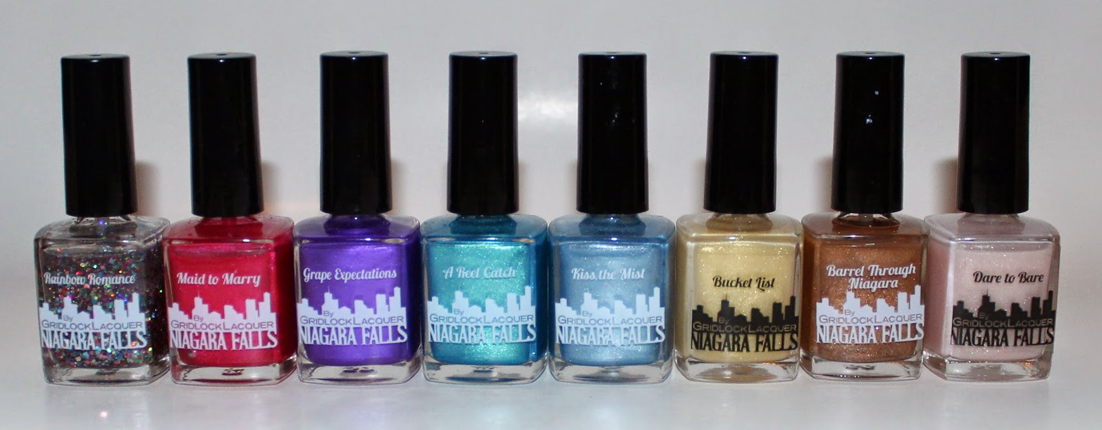 Gridlock Lacquer Niagara Falls Collection