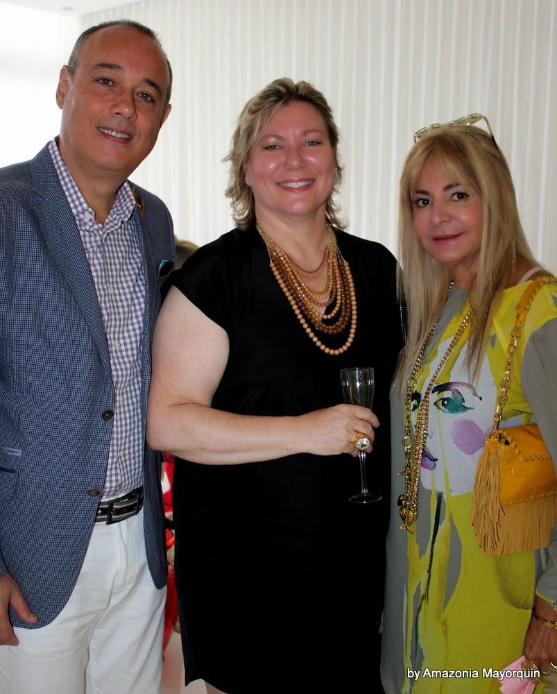 Rafael Gabeiras, Maryam Gallerani and Viviana Gabeiras.