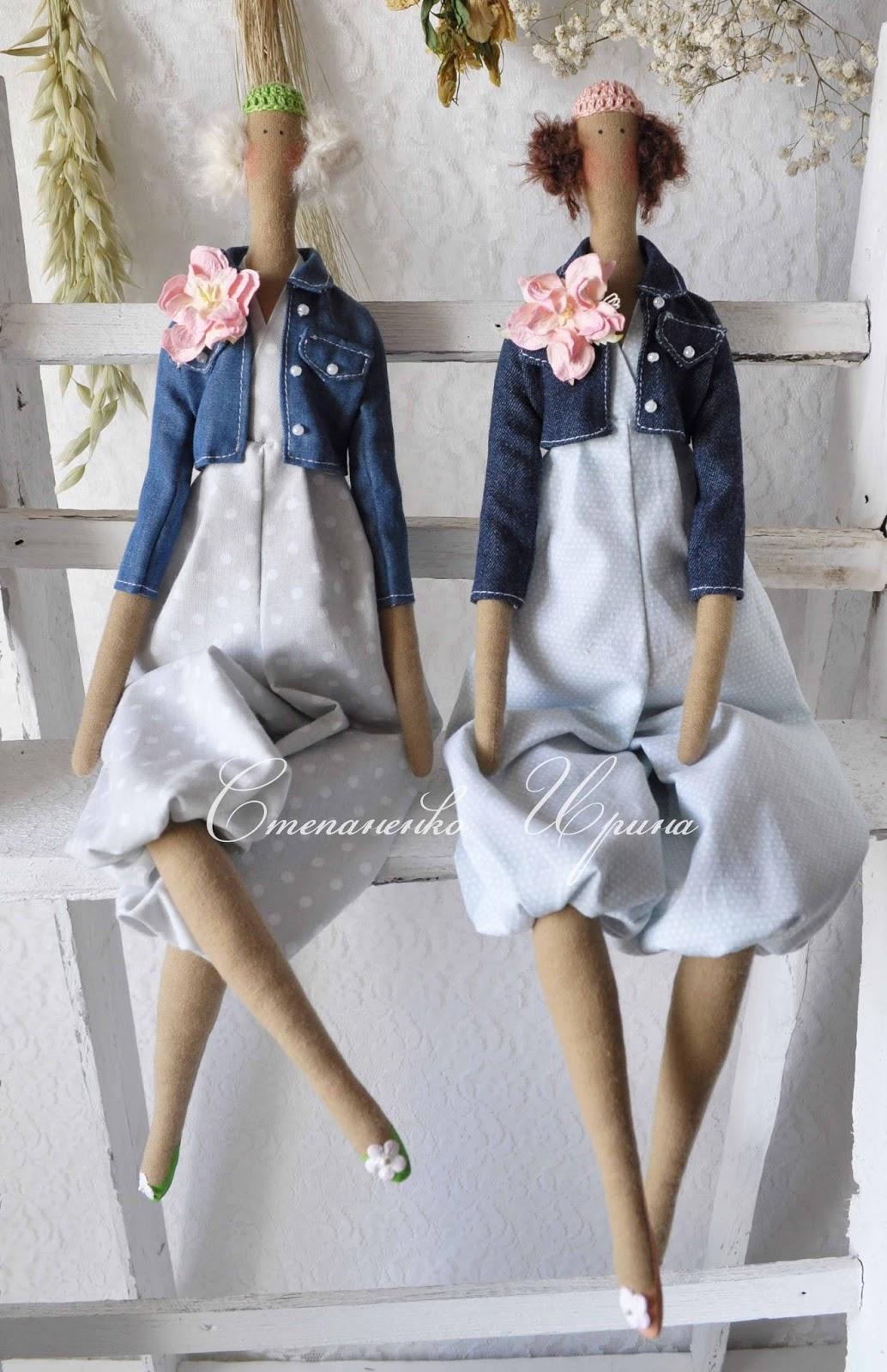 Из джинс своими руками куклы 540