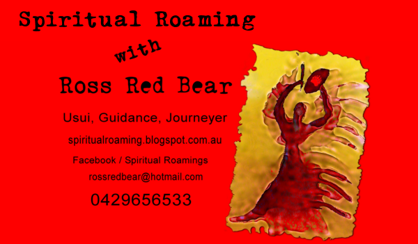 Spiritual Roaming with Ross Red Bear