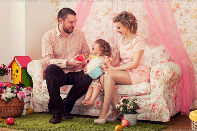 студия всей семьей на фотосессии