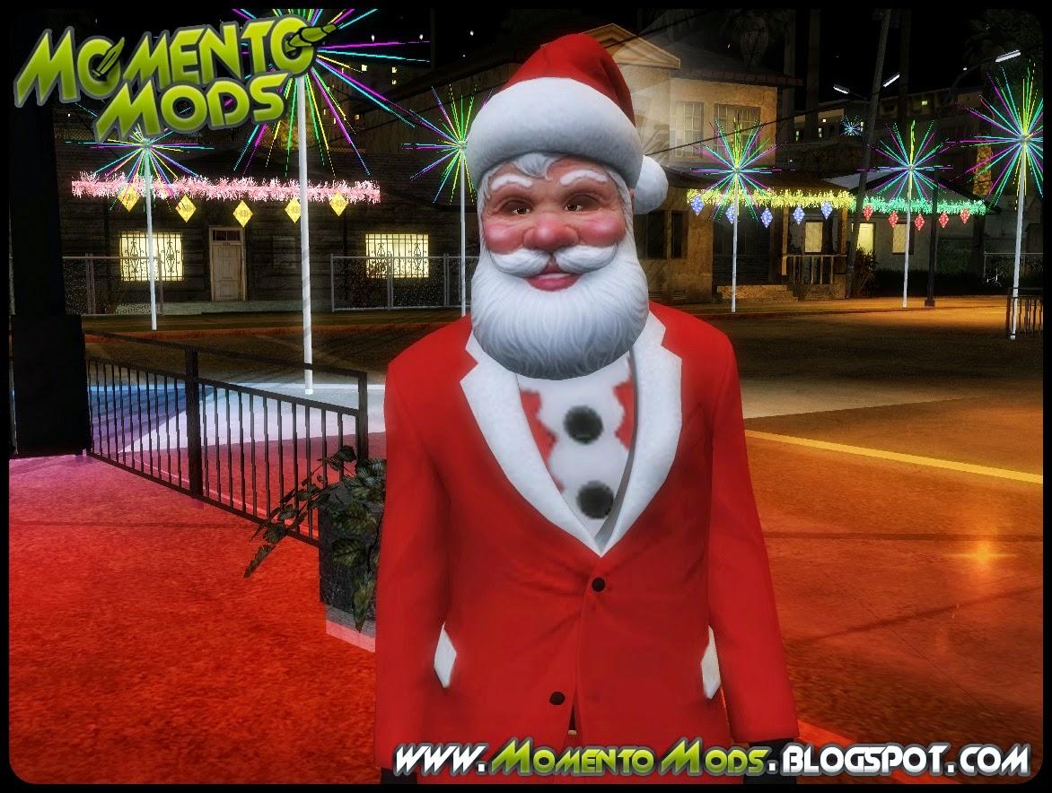 GTA SA - Skin Papai Noel 2015