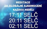 Meditace za globální sjednocení