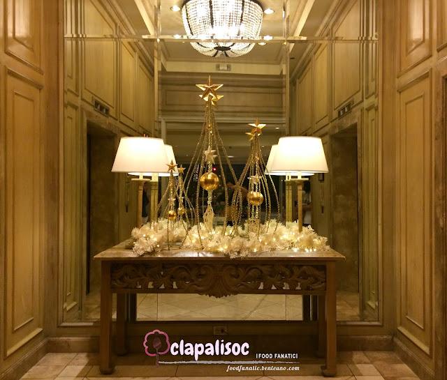 Intercontinental Hotel Manila Christmas Decors