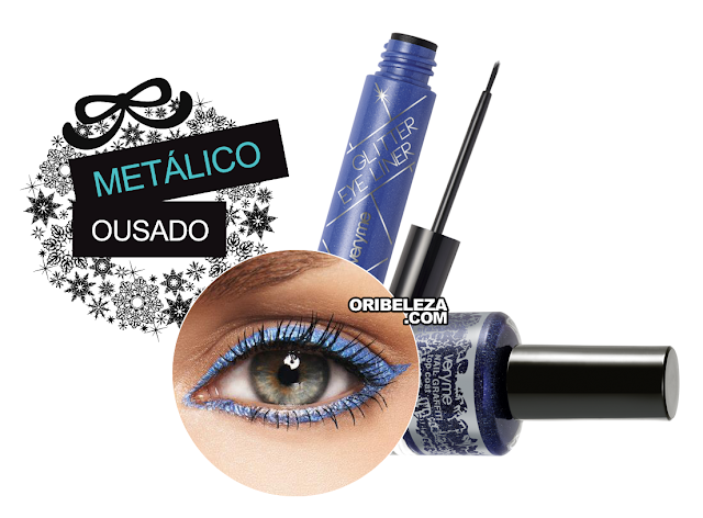 Eyeliner Glitter & Nail Graffiti Very Me para Looks Metálicos