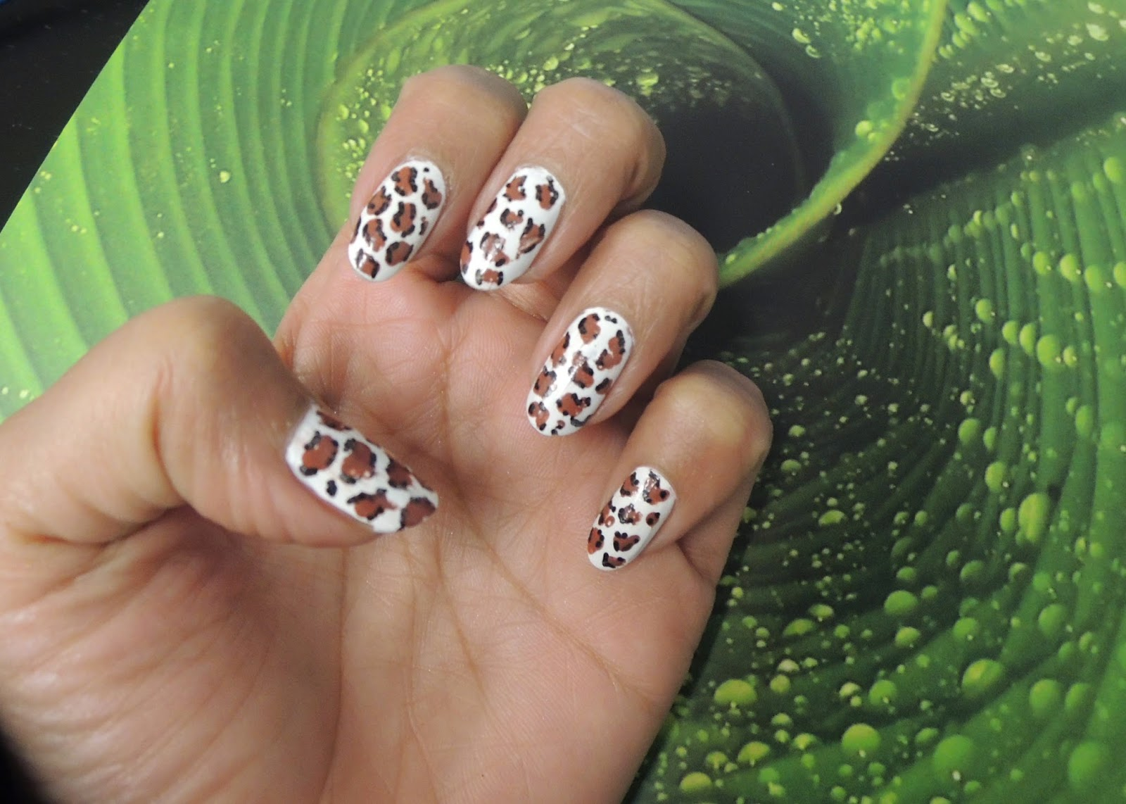 Nail Art - Leopard Print ~ So-Saree