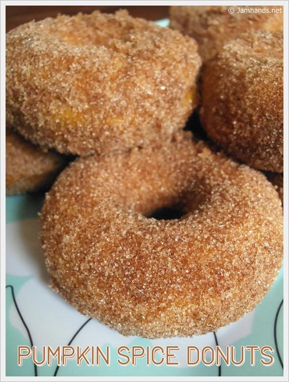 Jam Hands: Pumpkin Spice Donuts