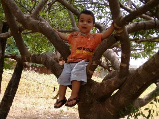 Henrison Hércules tem 1 ano e 10 meses de idade (Foto: Héricles da Silva / Arquivo Pessoal)