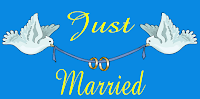 Just Married Wedding Banner Template