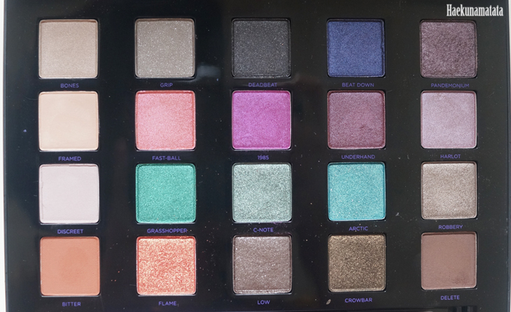 Urban Decay Vice 4 Palette Review and Swatches3