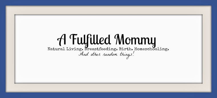 A Fulfilled Mommy