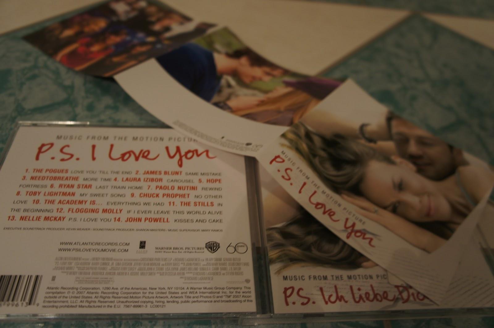 Love you soundtrack cd zum film vom bestseller von cecelia ahern