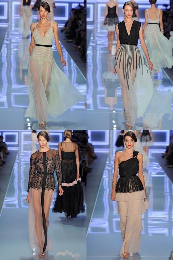 2b4ace Довгі вечірні сукні 2012 / фото