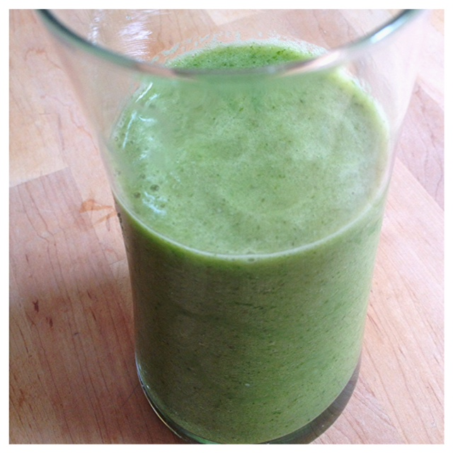 "The ""Mean Green Machine"" Smoothie 