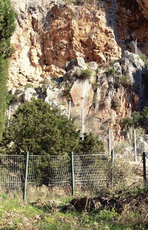 Δίχτυα-ασπίδα στο ιερό του Απόλλωνα