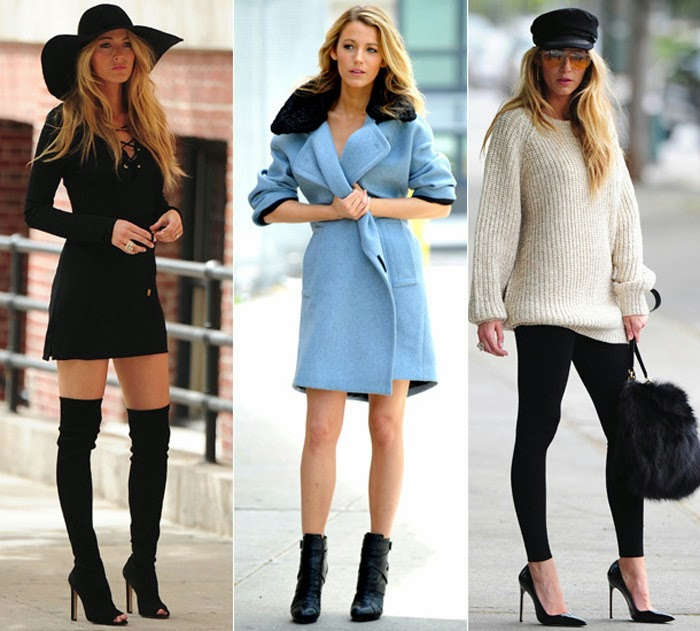 Blake Lively Style and Fashion Gossip Girls Fashion